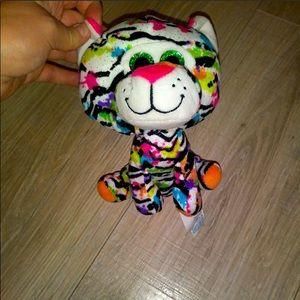 Hug Fun colorful small tiger plush
